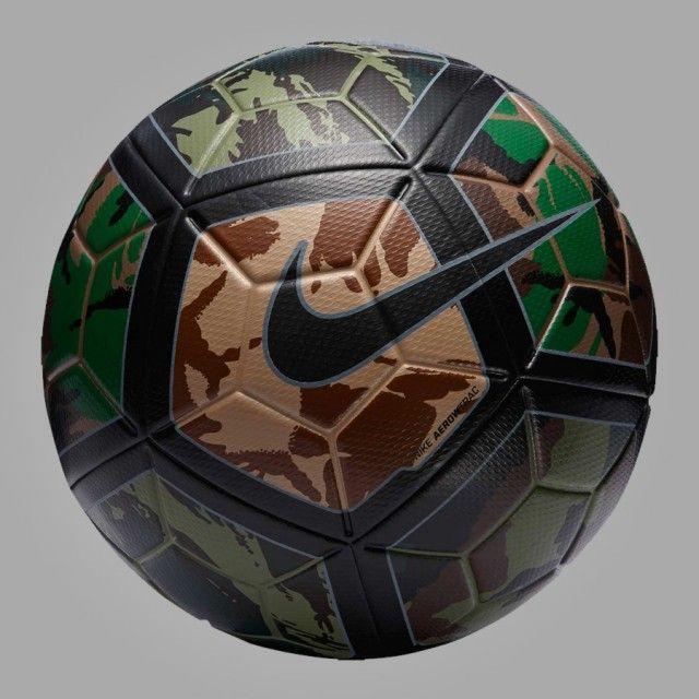 Nova bola camuflada Nike Ordem III
