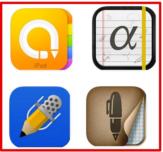 The Best 4 iPad Note Taking Apps for Students and Teachers