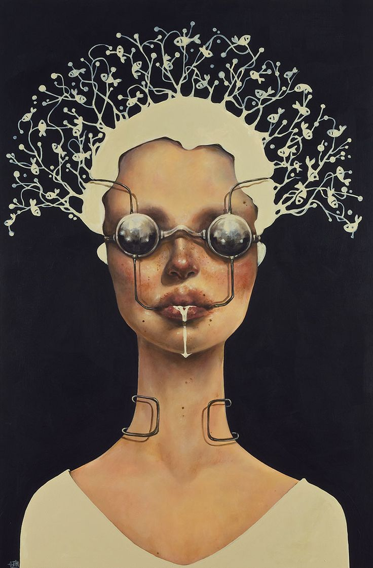 Paintings by Iranian Artist Afarin Sajedi: Afarin-Sajedi_12.jpg
