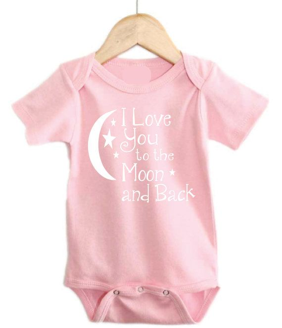 Love you to the Moon and Back Pink-