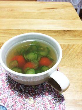 夏の冷製スープ♪