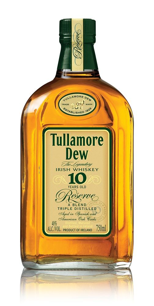 Tullamore Dew Review | Tullamore Dew 10 Year Old Bottle 75x150 Review: Tullamore Dew Irish ...