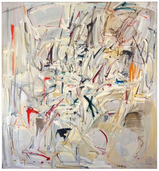 Untitled, 1952 by Joan Mitchell, Early Career NY: 1948–1958. Abstract Expressionism. abstract. Crystal Bridges Museum of American Art, Bentonville, AR, US