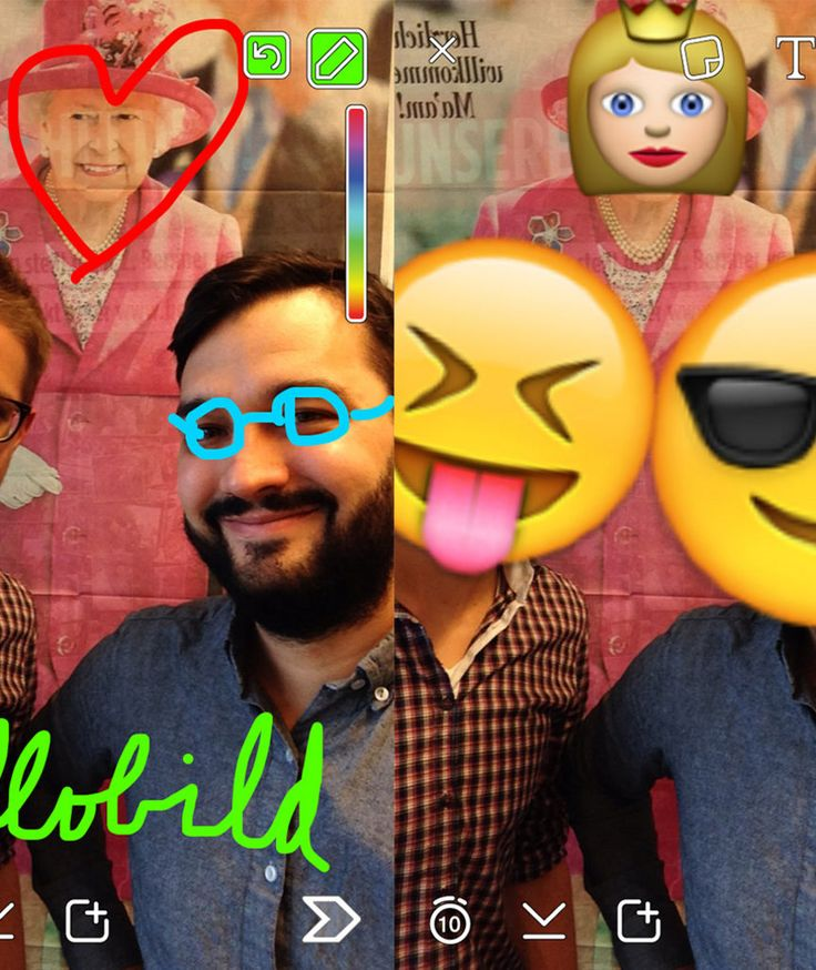 """SCHRITT FÜR SCHRITT ERKLÄRT So funktioniert die Messaging-App """"Snapchat"""""""