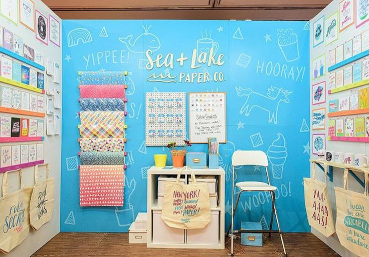 """85 Likes, 2 Comments - Katie Hunt, TSBC Founder (@tradeshowcamp) on Instagram: """"The @stationeryshow kicks off in two weeks and we have about 65 TSBC alums exhibiting this year.…"""""""