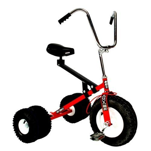 Dirt King Big Kid Dually RED by Dirt King. $322.58. Assembly required. Color: Red. Large comfortable seat. Adjustable shock absorber on seat frame.. Made in U.S.A.. Dirt King® originally created the larger dually trikes for adults but discovered big kids from the ages 7 to 10 really enjoyed the look and ride and some preferred it over riding their bike. Due to the taller seat-riser frame design, it's ideal for kids who are taller or bigger in size and is sure to be the envy ...