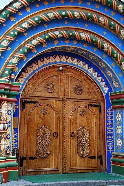 Арочные ворота в Москве