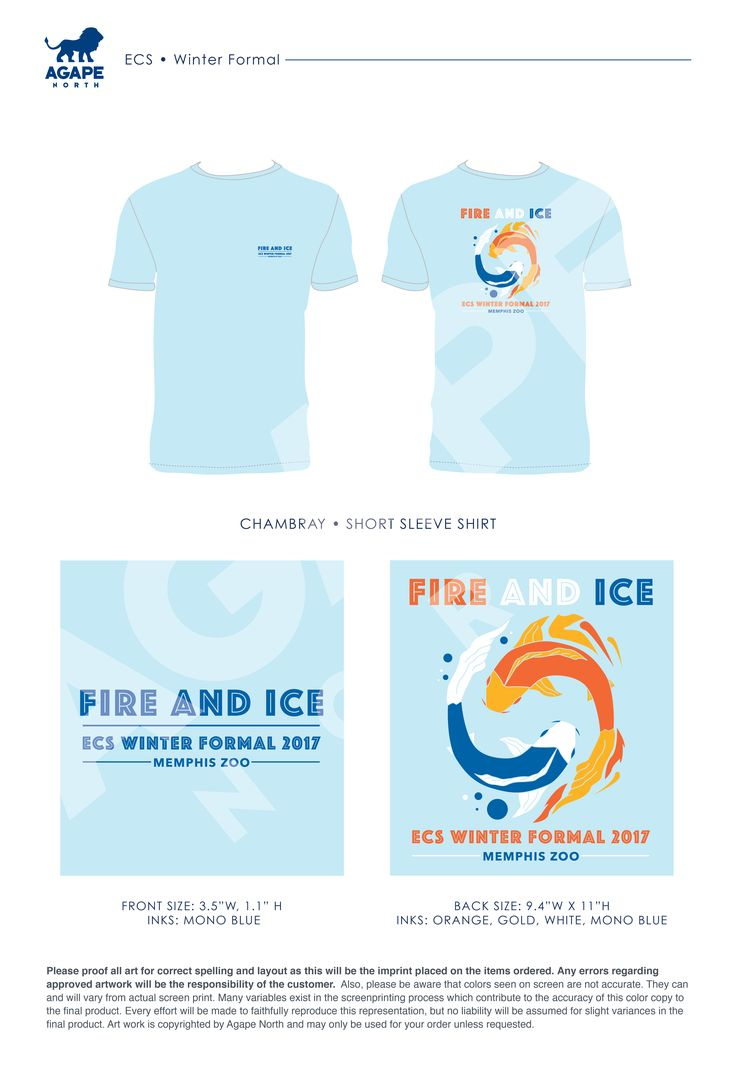 Agape North: Custom Apparel that Gives Back. #winterformals #fireandice