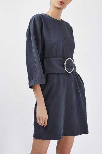 '80s Dome Sleeve Dress by Boutique
