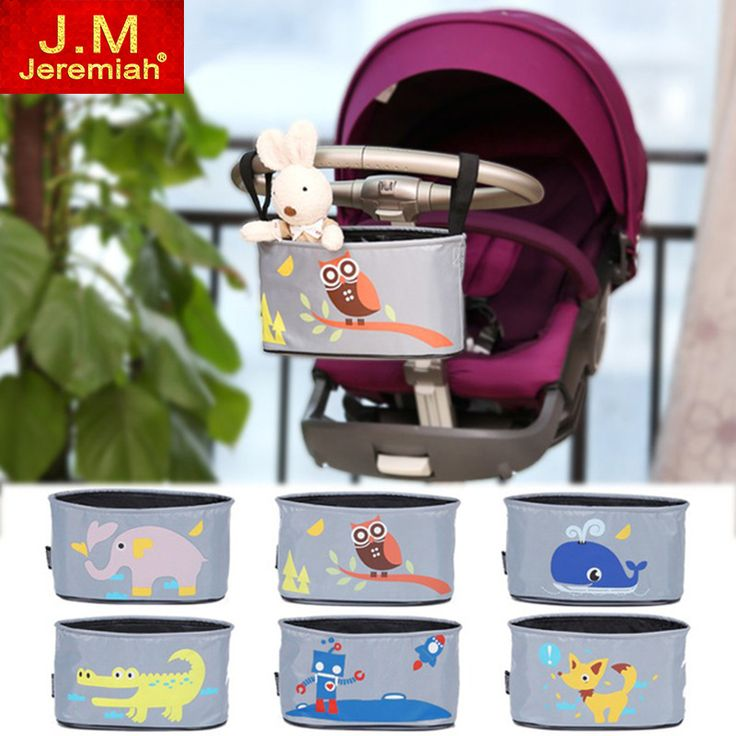Baby car hanging basket baby stroller animal bag storage bag stroller accessories diaper bag mama bag
