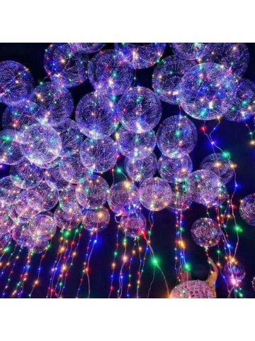 Clear Balloon with LED String Lights LED Lights Pinterest