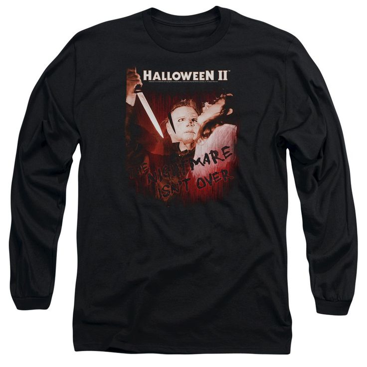 """Checkout our #LicensedGear products FREE SHIPPING + 10% OFF Coupon Code """"Official"""" Halloween Ii / Nightmare - Long Sleeve Adult 18 / 1 - Halloween Ii / Nightmare - Long Sleeve Adult 18 / 1 - Price: $29.99. Buy now at https://officiallylicensedgear.com/halloween-ii-nightmare-long-sleeve-adult-18-1"""