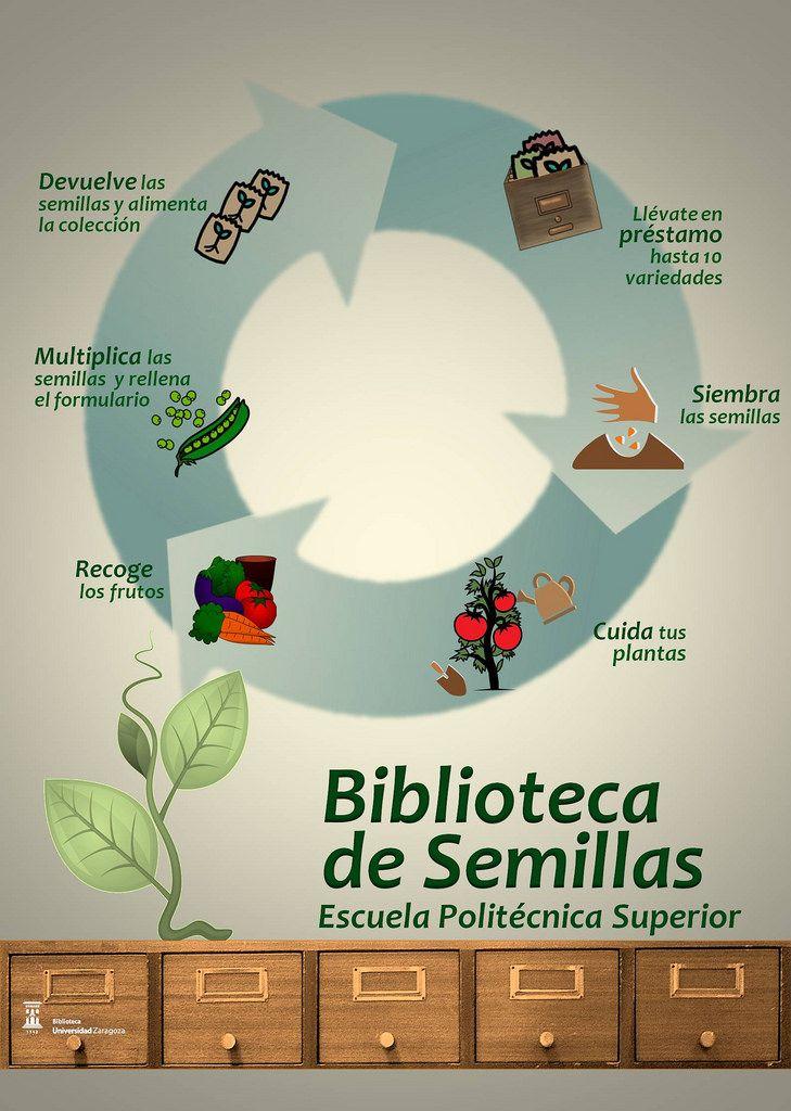 La Biblioteca de Semillas de la Escuela Politécnica Superior (EPS) nace en mayo de 2017 como un nuevo servicio de la Biblioteca EPS que tiene por objeto el préstamo de semillas de plantas hortícolas de Aragón a la comunidad universitaria de la EPS, preferentemente a los usuarios de los Huertos ecológicos.
