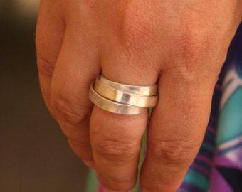 Anillo de abrigo anillo de plata esterlina por EdithToledano