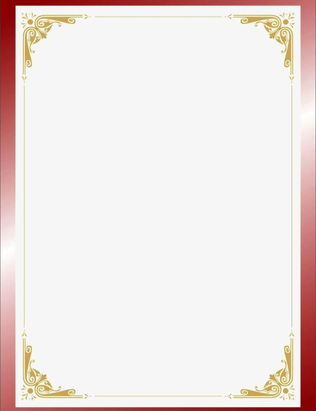 Background Border Transparent Background Certificate Design