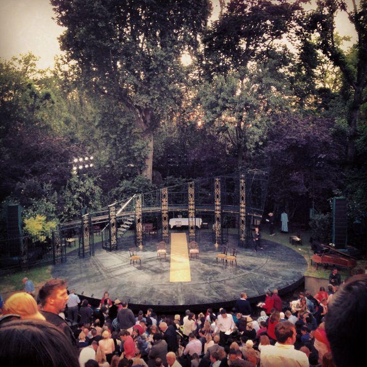 Regent's Park Open Air Theatre in Paddington, Greater London