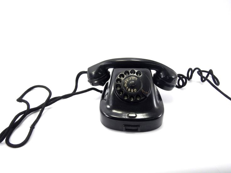 Excited to share the latest addition to my #etsy shop: Black vintage dial telephone, Vintage rotary phone, rotary phone, desk phone, Vintage telephone, 60's telephone, Telephone, retro decor