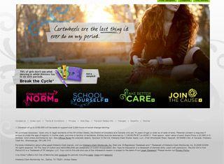 Promotional Web Design Design Example