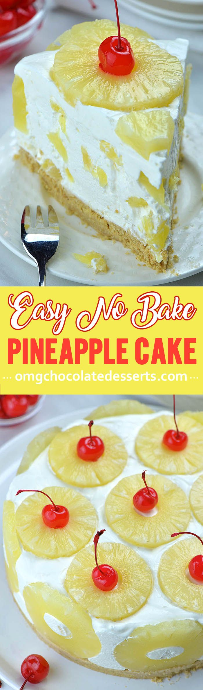 No Bake Pineapple Cake is quick and easy summer dessert recipe. Plus, this quick…