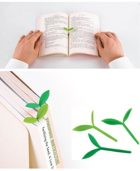 Little Green Sprout Bookmarks. 18 Cool School Supplies that Every Girl Needs