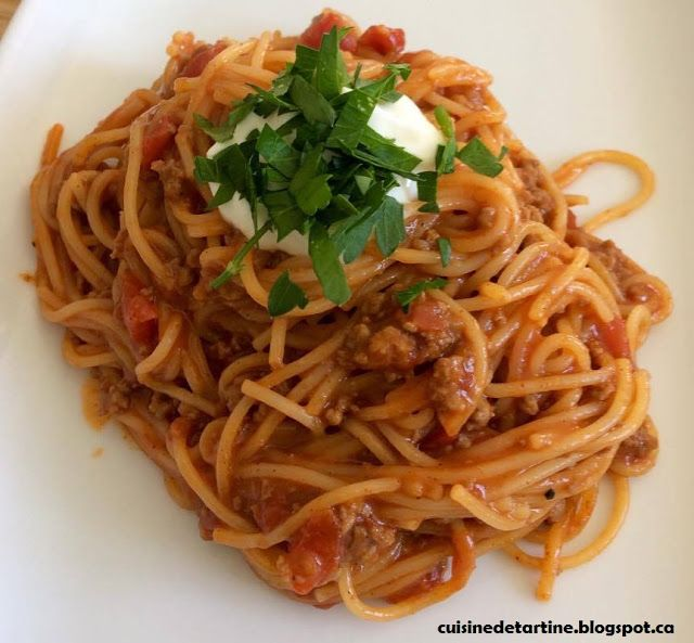 one pot spaghetti tex-mex