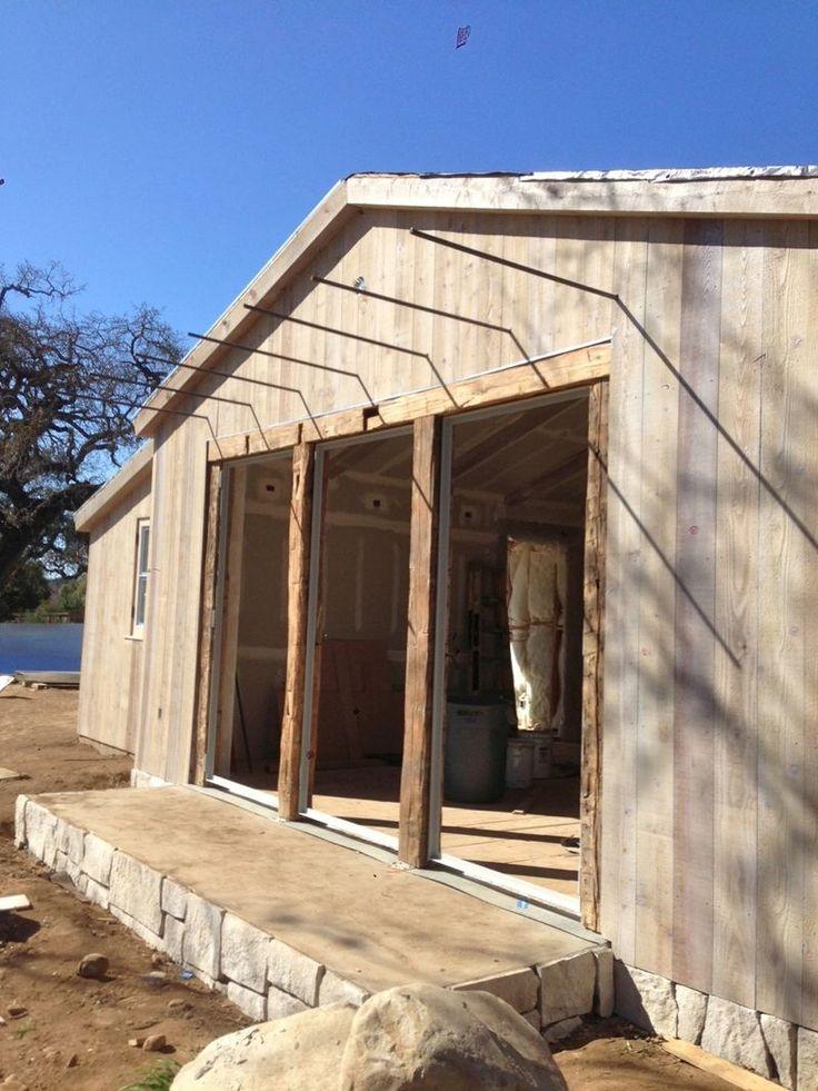 Best 70 modern rustic siding images on pinterest modern - Rustic modern farmhouse exterior ...