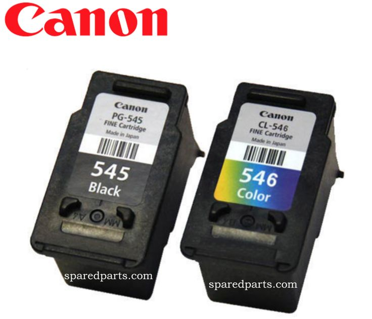 Canon CL-546, PL-545  (Used, Empty Cartridges)
