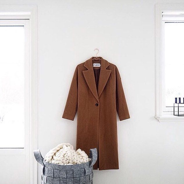 @splittertine has taken this shot of Ruth Coat, and we absolutely love how she captures the lines and silhouette of the coat.