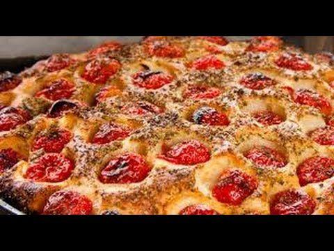 Video ricetta focaccia barese - YouTube