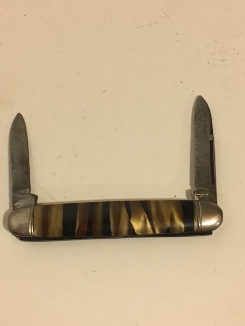 Vintage Hammer Brand 2 Blade Folding Pocket Pen Knife, Made In The USA | eBay