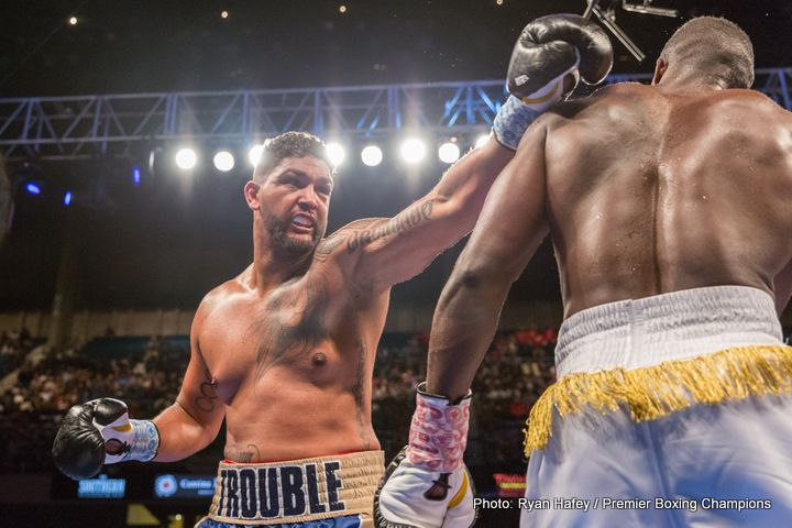 Dominic Breazeale in the frame for Joseph Parker fight on May 6