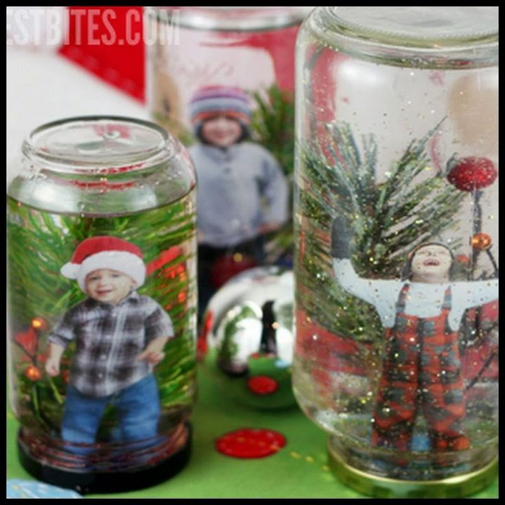 Turn Your Favorite Winter Photos Into These Cute Personalized Snow Globes