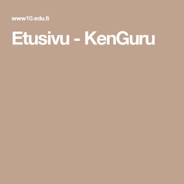 Etusivu - KenGuru