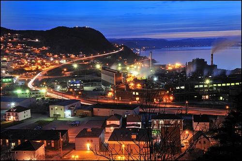 Corner Brook, Newfoundland - A fantastic journey with my mother.