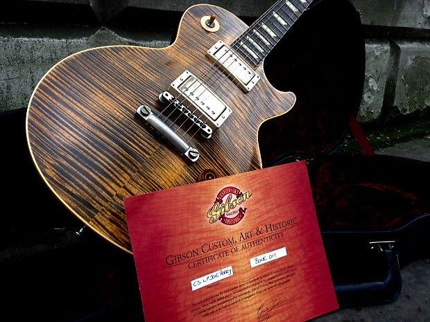 Gibson Joe Perry Signature Boneyard Les Paul 2003 2012 Reverb Joe Perry Les Paul Gibson Custom Shop