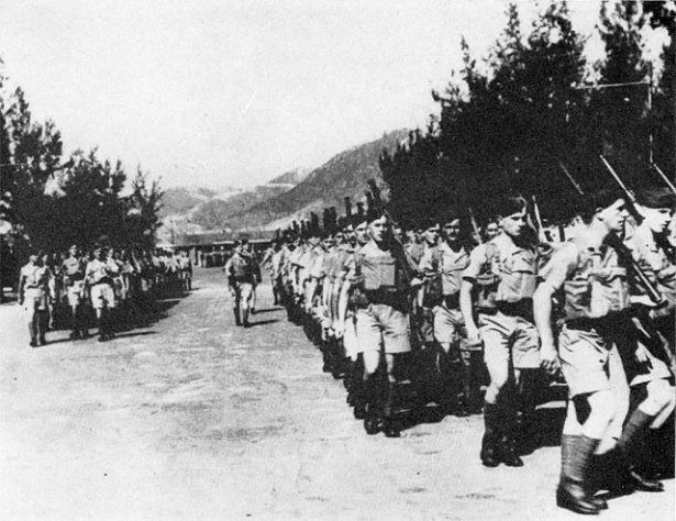 "Arrival of Canadian ""C Force"" at Hong Kong 1941 (British Commonwealth's Troops Defend Hong Kong to Death, CCP Twisted History 
