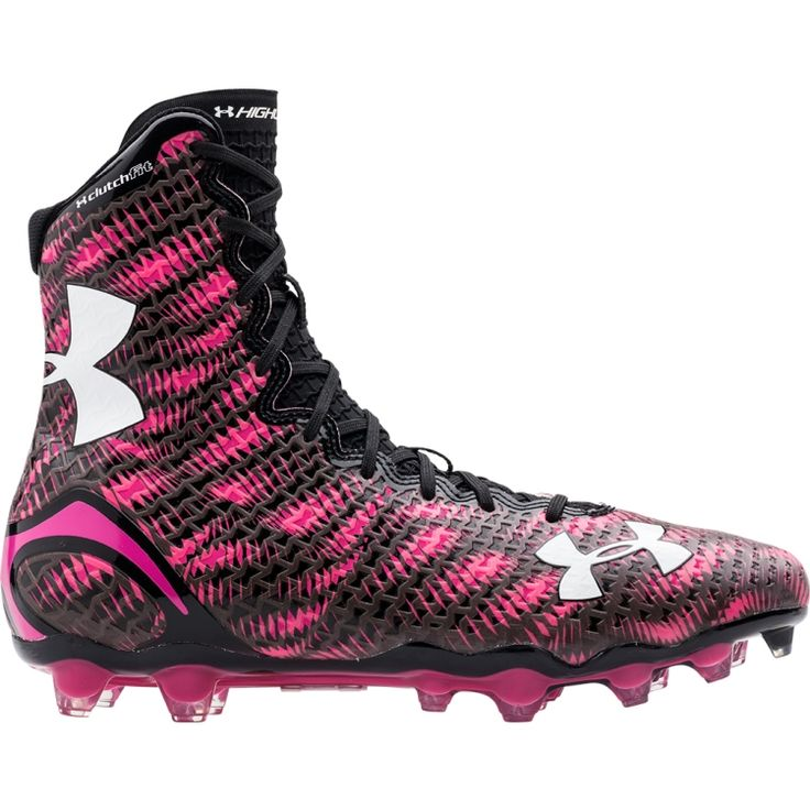Under Armour Men's Highlight MC Power In Pink Football Cleats | DICK'S Sporting Goods