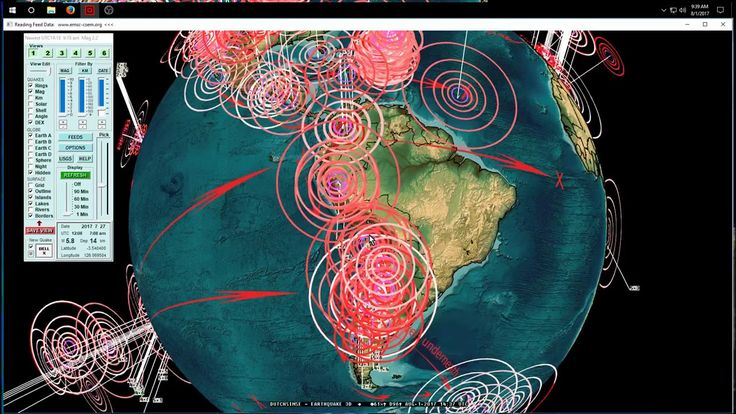 8/01/2017 -- Central + South America Earthquake Update -- New seismic un...
