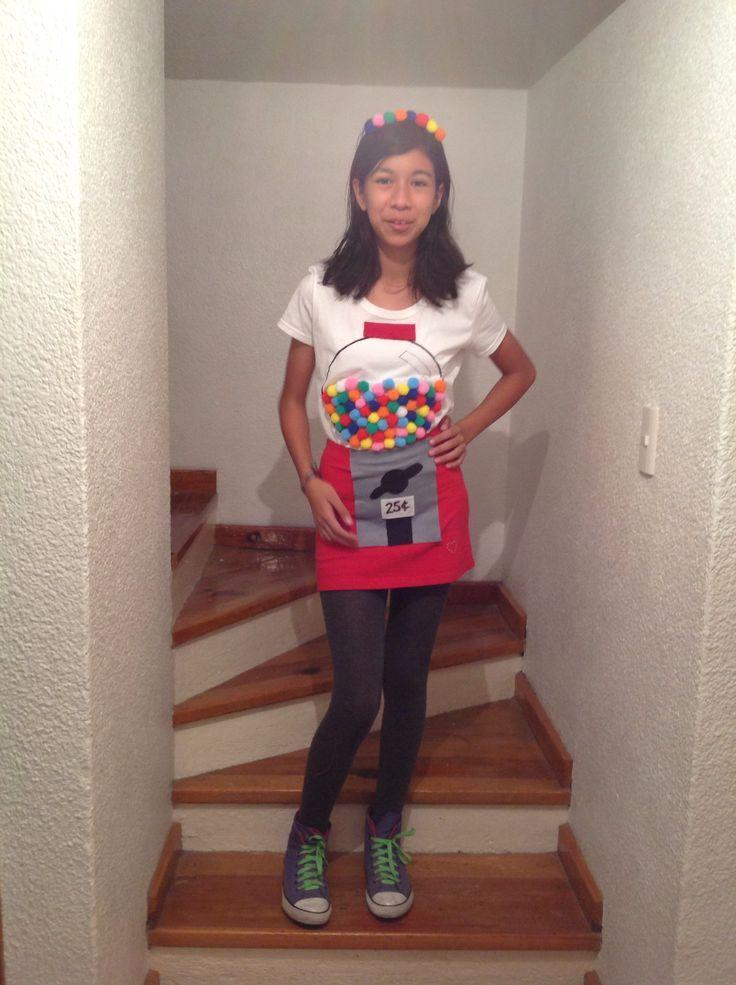 Gumball machine costume...adorable!