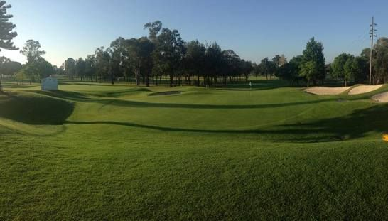 Play 18 Holes for two at the beautiful Richmond Golf Club! With the backdrop of the stunning Blue Mountains, enjoy the view of the course with a mate including a shared cart & a cold beer each after your rounds. Normally $120, this offer only $59! #golf #golfsyd