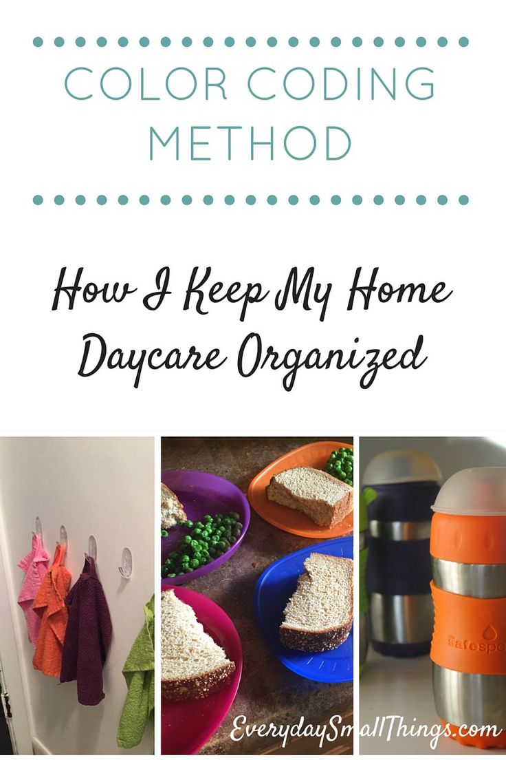 How I Keep My Home Daycare Organized :: EverydaySmallThings.com