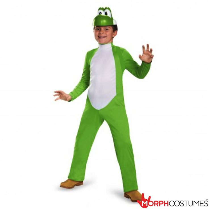 Boys Fancy Dress Costumes: This awesome Yoshi Deluxe Kids Costume is the ultimate Super Mario themed costume. Whatever Character you go with when you dress up as the Super Mario hero, be sure to have the accessories to match.