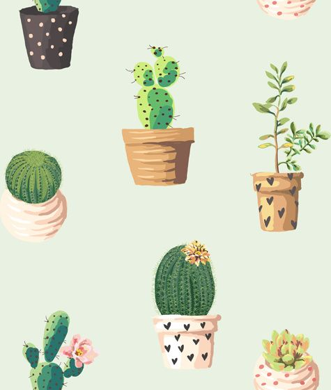 vintage plant seamless pattern vectors