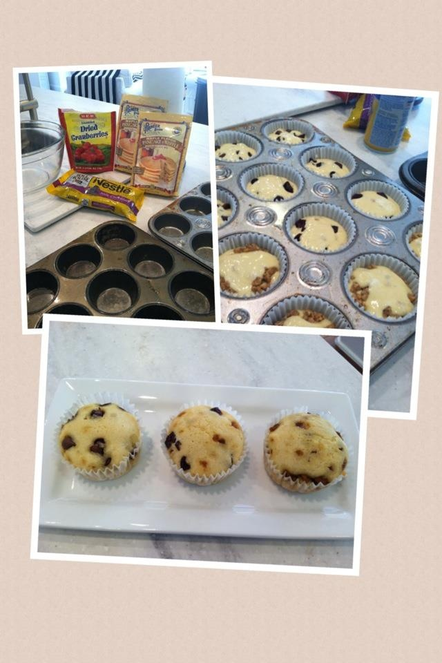 how to make pancake muffins with pancake mix
