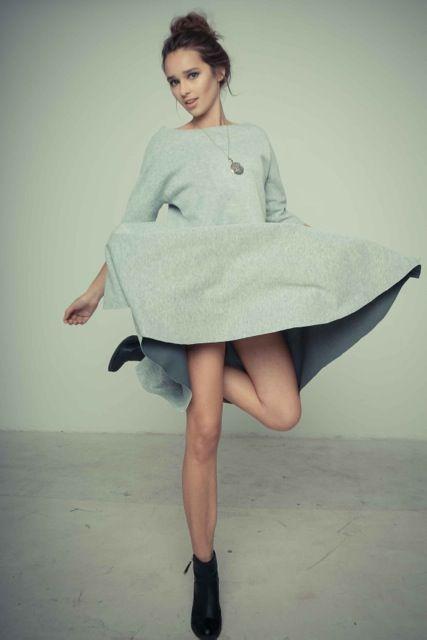 Just grey!  xoxo from Klaudia Szpakowska***