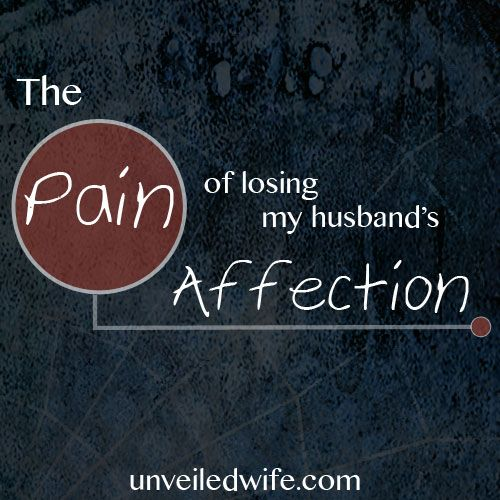 Apathy in marriage is a silent killer of relationship.  It tears couples apart and damages the affection once held in high esteem.     Read more - > http://unveiledwife.com/apathy-in-marriage-the-pain-of-losing-my-husbands-affection/
