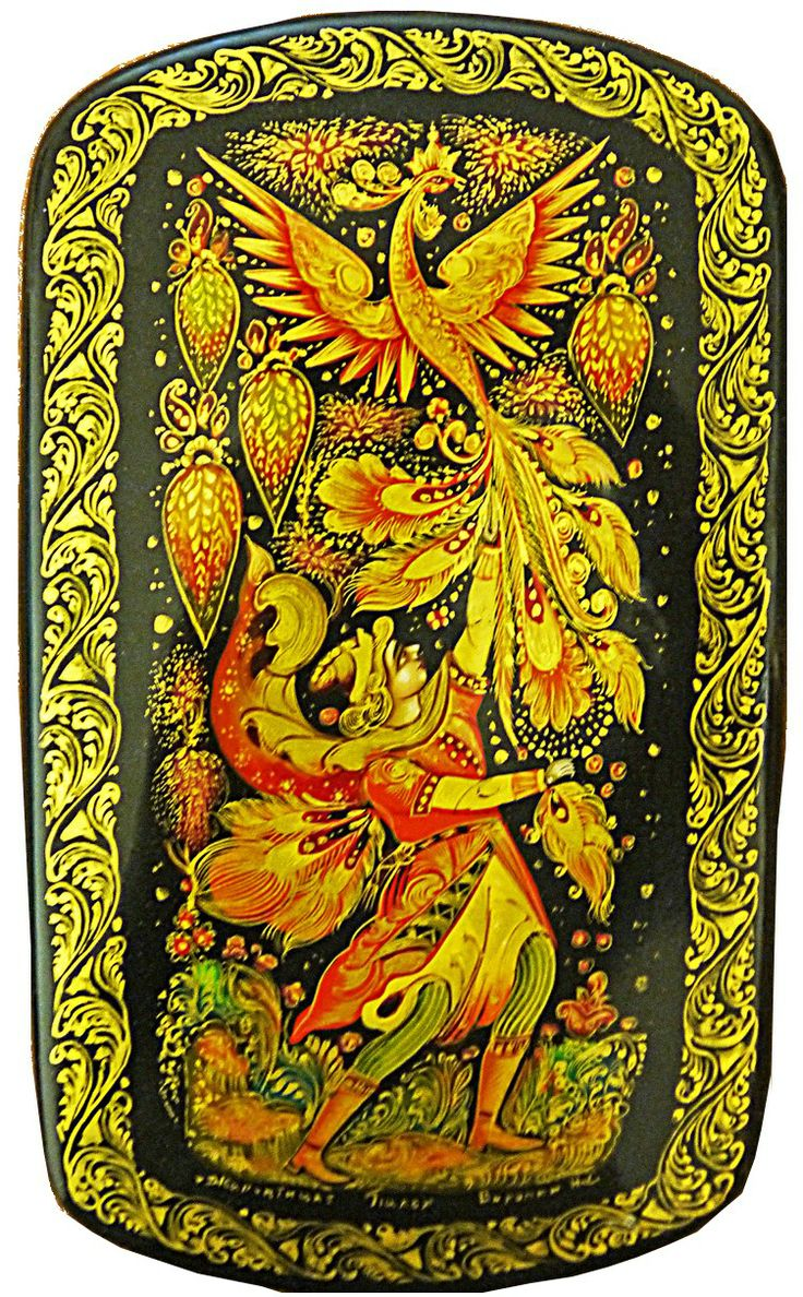 """Firebird"" by Voronin, of Palekh 