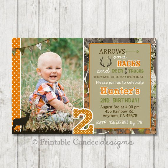 Best 25 Hunting birthday parties ideas on Pinterest Kids bday