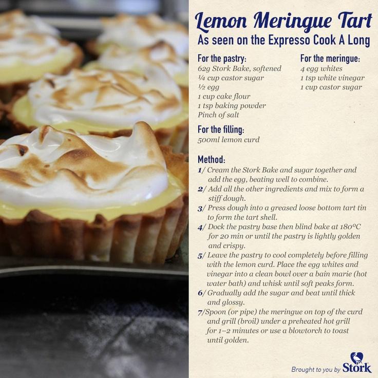 Lemon Meringue Tart #recipe