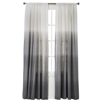 back to search resultsTarget home home décor curtains, blinds & shades curtains Threshold™ Ombre Stripe Window Panel Rating: 5out of 5 stars: 1 reviews $24.99 - $29.99